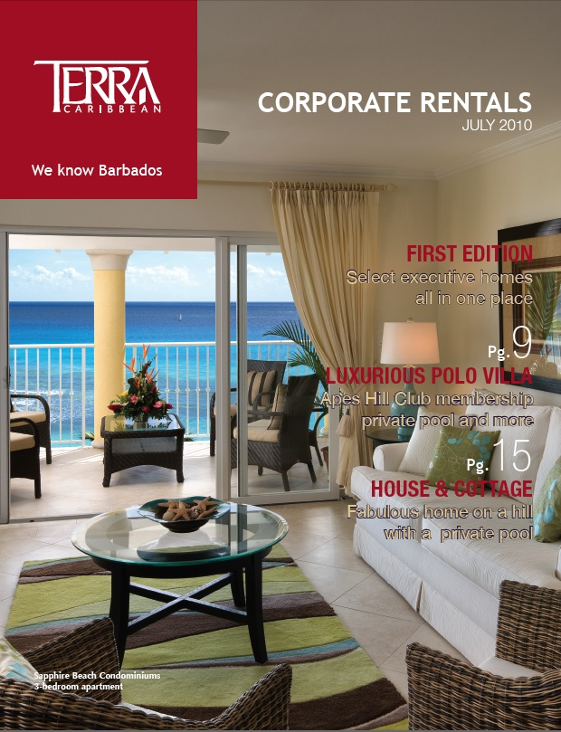 Terra Caribbean Corporate Rentals E-Book July 2010