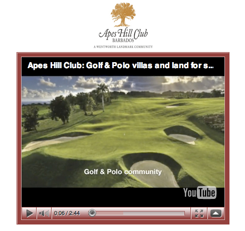 YouTube Screenshot - Apes Hill Club